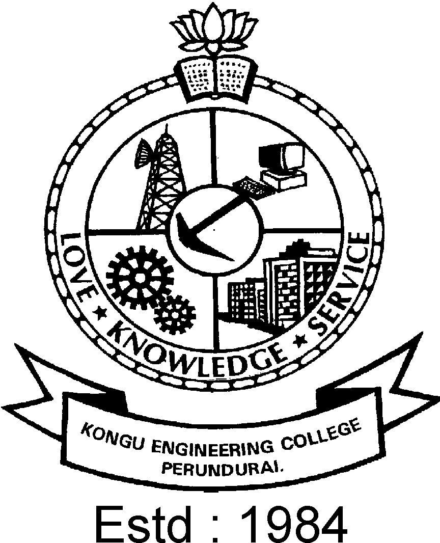 Netid Homepage Kongu Engineering College Information